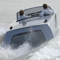 Sluiting aantrekkende werking RVS boot