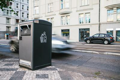 Smart city - Efficiënt afvalbeheer