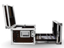 Geleiders in flightcase