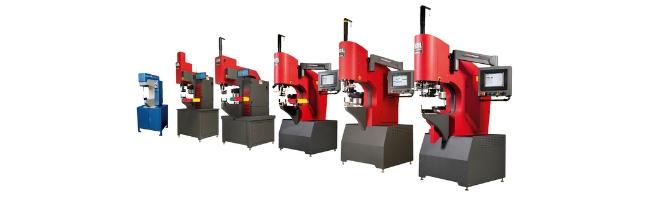 Line-up Haeger inpersmachines